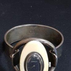 Relojes de pulsera: RELOJ S`PALIU DE PLATA Y MARFIL FUNCIONANDO VINTAGE. Lote 180934553