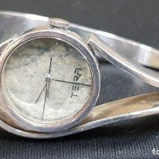 Relojes de pulsera: RELOJ TERA VINTAGE EN PLATA 17 RUBIS PLATA DE 925. Lote 180935093