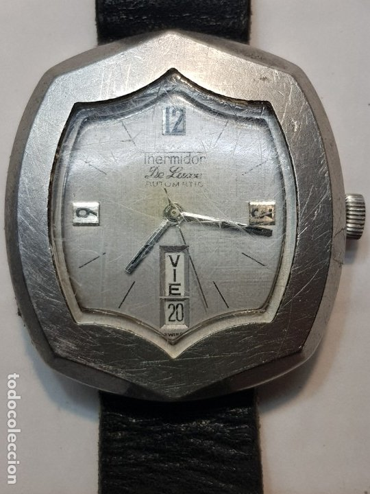 RELOJ THERMIDOR DE LUXE AUTOMÁTIC DISEÑO DIFÍCIL DE CONSEGUIR (Relojes - Pulsera Carga Manual)