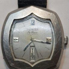 Relojes de pulsera: RELOJ THERMIDOR DE LUXE AUTOMÁTIC DISEÑO DIFÍCIL DE CONSEGUIR . Lote 181089275