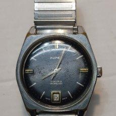 Relojes de pulsera: RELOJ JUPEX LA CHAUX DE FONDS DIFÍCIL DE CONSEGUIR . Lote 181089891