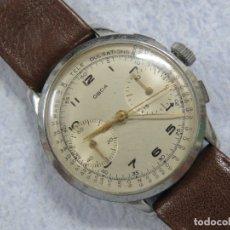 Relojes de pulsera: AÑOS 40, MAGNIFICO RELOJ DE PULSERA CRONOMETRO - TELE PULSACIONES, FUNCIONANDO, MARCA OBDA. Lote 189138657