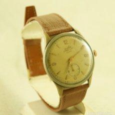 Relojes de pulsera: RELOJ MECANICO CHAPADO 38.5MM RAFER LUXE DUWARD FUNCIONANDO. Lote 181415412