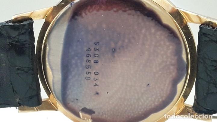 Relojes de pulsera: RELOJ CERTINA MODELO CERTIDATE EN ORO DE LEY AÑOS 60 CARGA MANUAL Y TOTALMENTE NUEVO - Foto 7 - 178183147