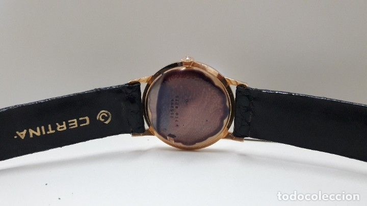 Relojes de pulsera: RELOJ CERTINA MODELO CERTIDATE EN ORO DE LEY AÑOS 60 CARGA MANUAL Y TOTALMENTE NUEVO - Foto 8 - 178183147