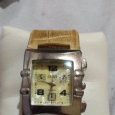 Relojes de pulsera: ANTIGUO ( RELOJ SINGAPUR JB CUZZI , FUNCIONANDO ). MÁS RELOJES ANTIGUOS EN MI PERFIL.. Lote 181523107