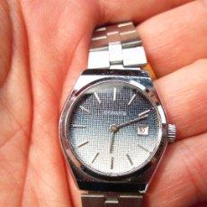 Relojes de pulsera: RELOJ DE PULSERA JOCAWATCH CARGA MANUAL,CUERDA - CALENDARIO- FUNCIONANDO - DE ACERO INOXIDABLE - SIN. Lote 181561041