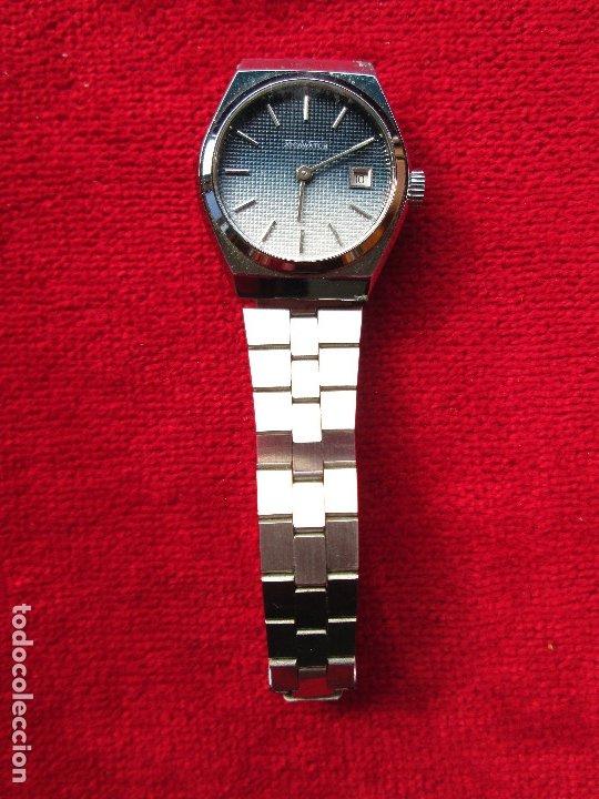 Relojes de pulsera: RELOJ DE PULSERA JOCAWATCH CARGA MANUAL,CUERDA - CALENDARIO- FUNCIONANDO - DE ACERO INOXIDABLE - SIN - Foto 3 - 181561041