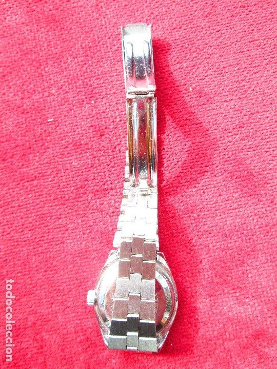 Relojes de pulsera: RELOJ DE PULSERA JOCAWATCH CARGA MANUAL,CUERDA - CALENDARIO- FUNCIONANDO - DE ACERO INOXIDABLE - SIN - Foto 6 - 181561041