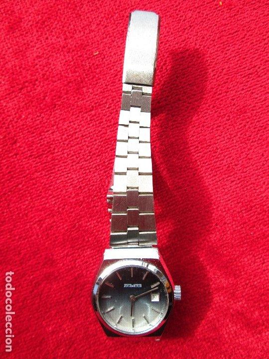 Relojes de pulsera: RELOJ DE PULSERA JOCAWATCH CARGA MANUAL,CUERDA - CALENDARIO- FUNCIONANDO - DE ACERO INOXIDABLE - SIN - Foto 7 - 181561041