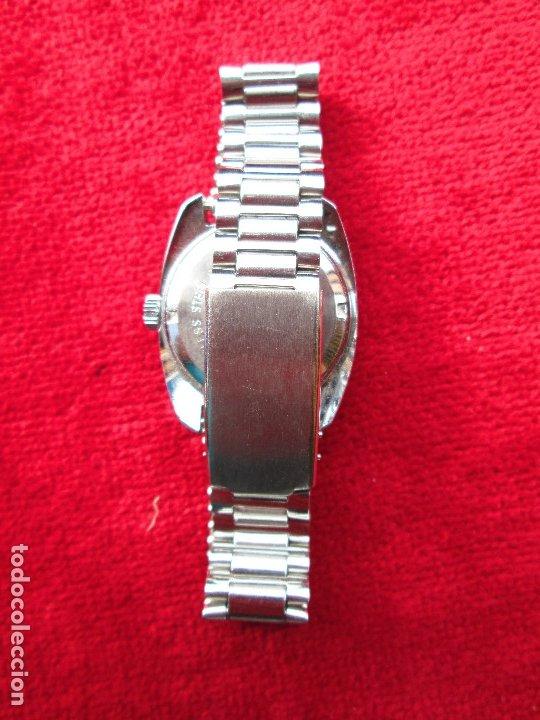 Relojes de pulsera: RELOJ DE PULSERA SUPER WATCH CARGA MANUAL,CUERDA - CALENDARIO- FUNCIONANDO - Foto 5 - 181561471