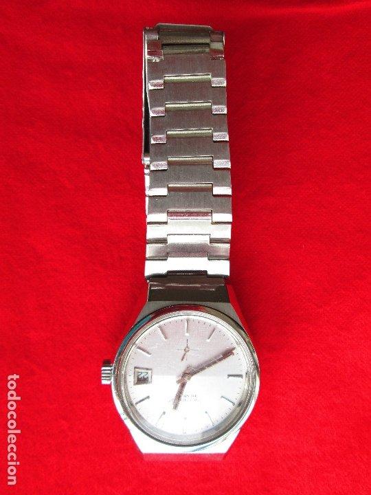 Relojes de pulsera: RELOJ DE PULSERA THERMIDOR CARGA MANUAL,CUERDA - CALENDARIO- FUNCIONANDO - Foto 3 - 181562908