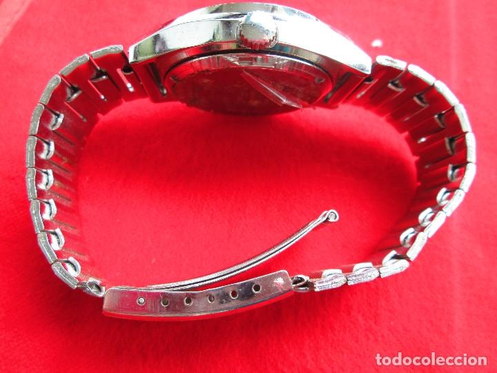 Relojes de pulsera: RELOJ DE PULSERA THERMIDOR CARGA MANUAL,CUERDA - CALENDARIO- FUNCIONANDO - Foto 5 - 181562908