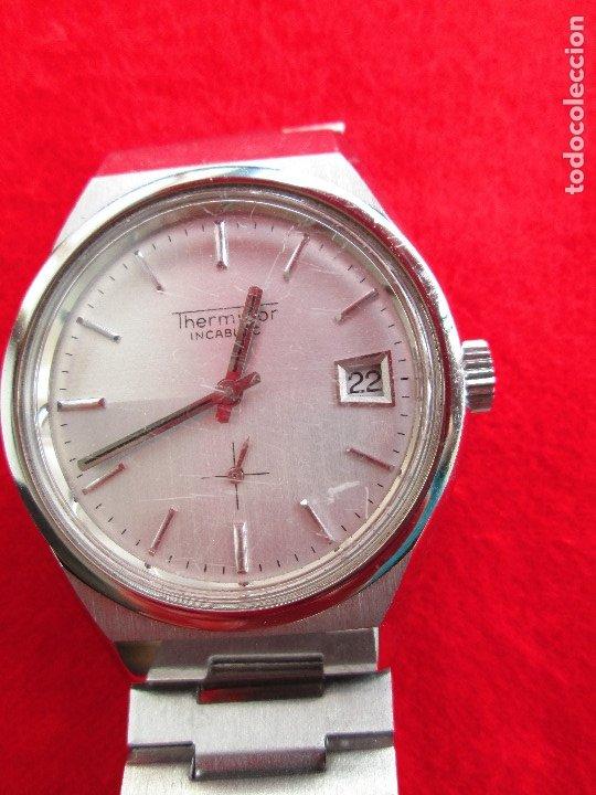 Relojes de pulsera: RELOJ DE PULSERA THERMIDOR CARGA MANUAL,CUERDA - CALENDARIO- FUNCIONANDO - Foto 7 - 181562908