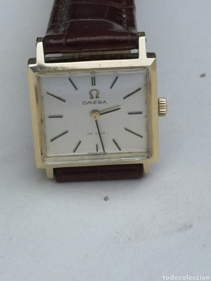 Relojes de pulsera: Hermoso reloj omega de oro de 18k para dama - Foto 2 - 181656382