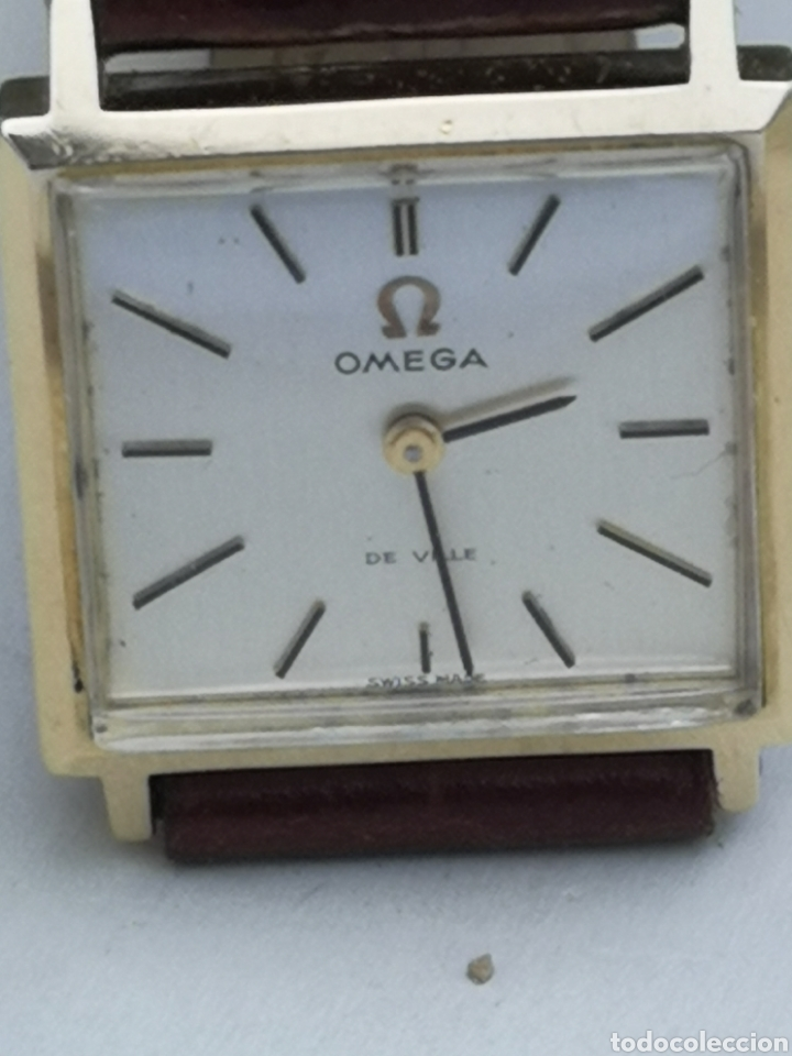 Relojes de pulsera: Hermoso reloj omega de oro de 18k para dama - Foto 3 - 181656382