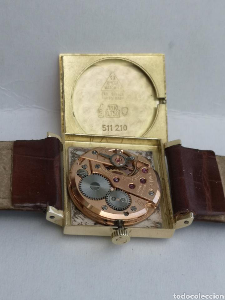 Relojes de pulsera: Hermoso reloj omega de oro de 18k para dama - Foto 5 - 181656382