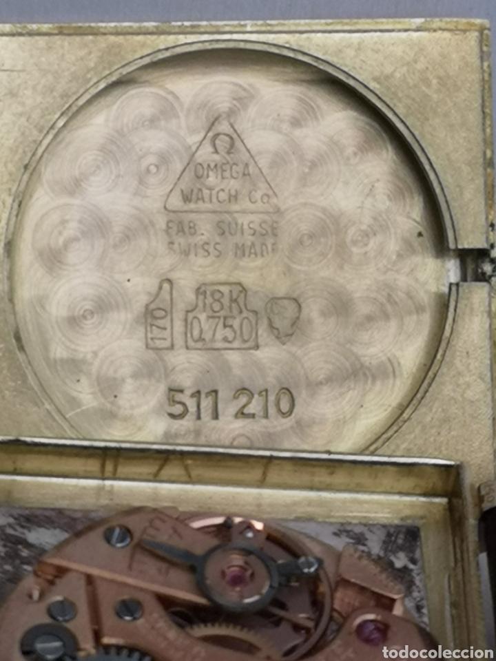 Relojes de pulsera: Hermoso reloj omega de oro de 18k para dama - Foto 6 - 181656382