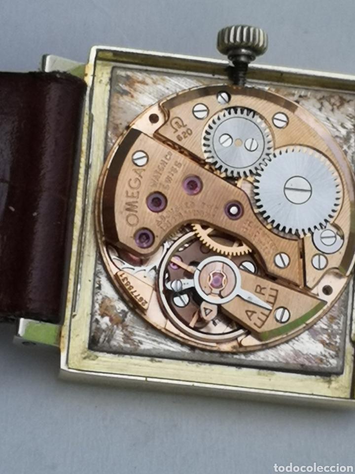 Relojes de pulsera: Hermoso reloj omega de oro de 18k para dama - Foto 8 - 181656382