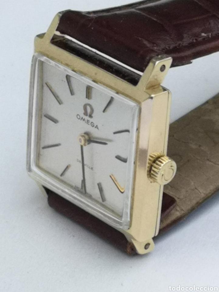 HERMOSO RELOJ OMEGA DE ORO DE 18K PARA DAMA (Relojes - Pulsera Carga Manual)