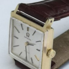 Relojes de pulsera: HERMOSO RELOJ OMEGA DE ORO DE 18K PARA DAMA. Lote 181656382