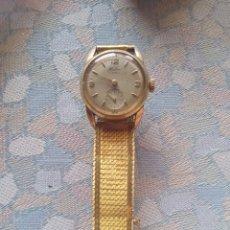 Relojes de pulsera: RELOJ SEÑORA HALCON AÑOS 50 CHAPADO ORO 8 MICRAS 17 JEWELS. Lote 181694322