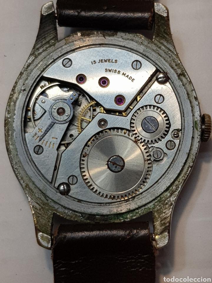 Relojes de pulsera: Reloj antiguo de cuerda Suizo de Caballero - Foto 2 - 181857857