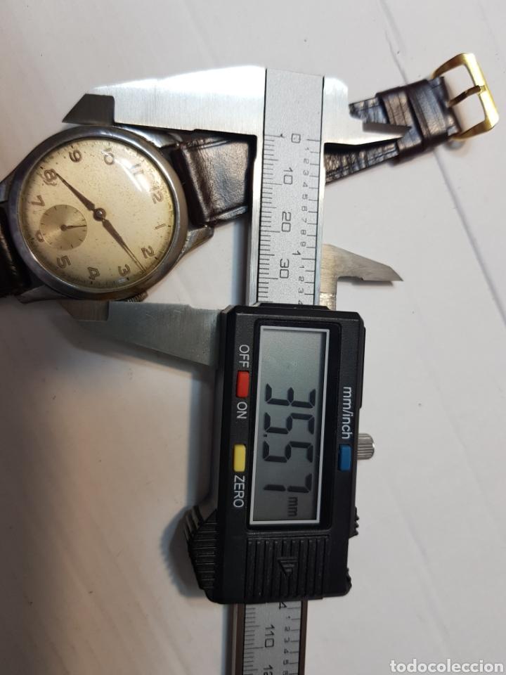 Relojes de pulsera: Reloj antiguo de cuerda Suizo de Caballero - Foto 3 - 181857857