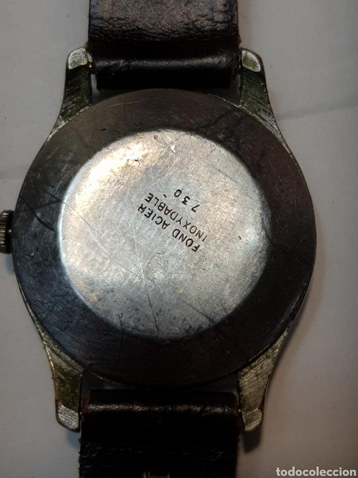 Relojes de pulsera: Reloj antiguo de cuerda Suizo de Caballero - Foto 4 - 181857857