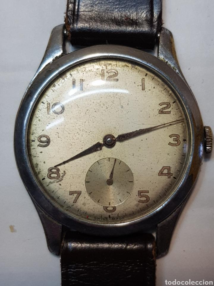RELOJ ANTIGUO DE CUERDA SUIZO DE CABALLERO (Relojes - Pulsera Carga Manual)