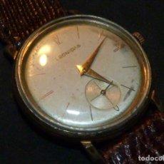 Relojes de pulsera: BONITO RELOJ LEONIDAS MONOSCAPHE COMPRESSOR CAJA EPSA CARGA MANUAL SWISS MADE RARO. Lote 181961243