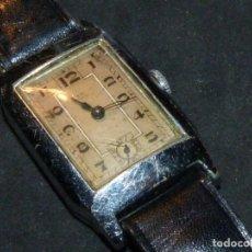 Relojes de pulsera: PRECIOSO RELOJ A.W. GENEVE SWISS MADE ORIGINAL AÑOS 30-40 RARO ART DECO 15 RUBIS CALIBRE 59. Lote 181961835