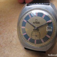 Relojes de pulsera: ANTIGUO RELOJ DE CUERDA DE PULSERA DE LA MARCA TORMAS. Lote 182065953