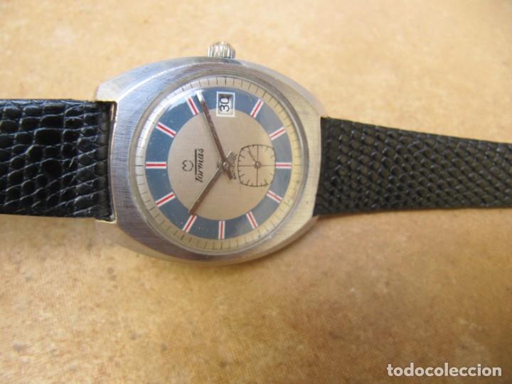 Relojes de pulsera: ANTIGUO RELOJ DE CUERDA DE PULSERA DE LA MARCA TORMAS - Foto 9 - 182065953