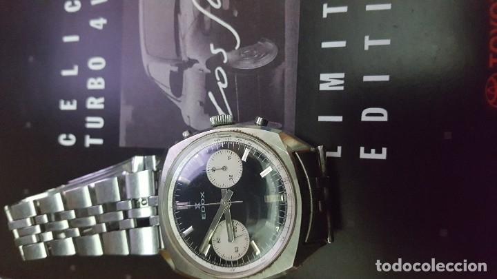 PRECIOSO EDOX CRONO (Relojes - Pulsera Carga Manual)