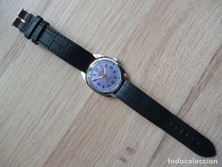 Relojes de pulsera: Reloj suizo CAMI vintage hombre 40 mm hasta corona y 38 mm DIAMETRO funciona como nuevo - Foto 4 - 182136161