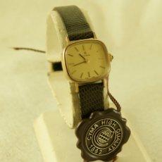 Relojes de pulsera: CYMA MECANICO TODO ORIGINAL NOS (NEW OLD STOCK) CON ETIQUETAS FUNCIONANDO. Lote 182200696