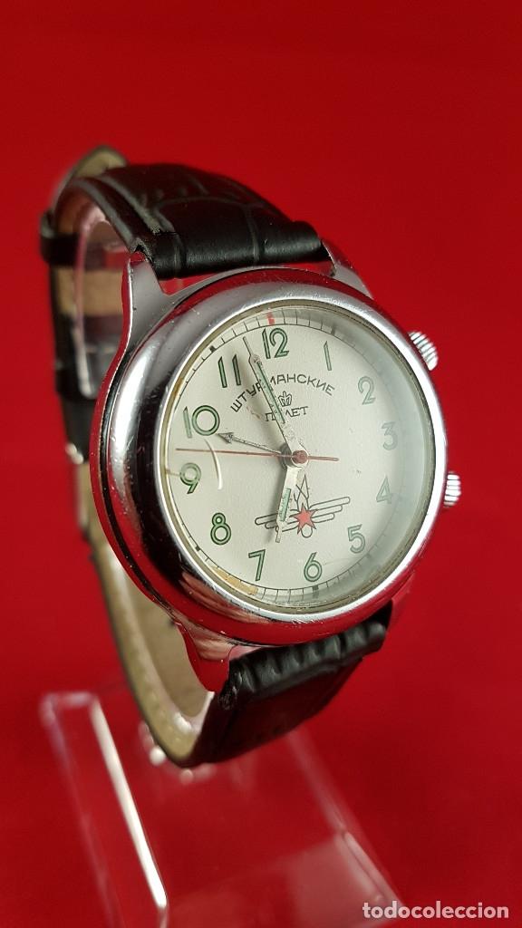 Relojes de pulsera: Reloj ruso Poljot Sturmanskie años 70 con alarma mecanica - Foto 3 - 182276717