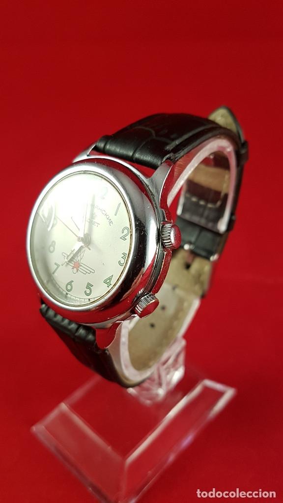 Relojes de pulsera: Reloj ruso Poljot Sturmanskie años 70 con alarma mecanica - Foto 5 - 182276717