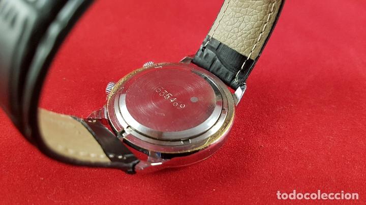 Relojes de pulsera: Reloj ruso Poljot Sturmanskie años 70 con alarma mecanica - Foto 6 - 182276717