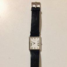 Relojes de pulsera: PIAGET RELOJ DE PULSERA CORREA PIEL COCODRILO HOMBRE ORO 18K CORONA ZAFIRO. Lote 182327566