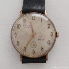 Relojes de pulsera: RELOJ CAUNY PRIMA 17 RUBIS. Lote 182344797