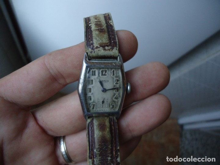 ANTIGUO RELOJ SUIZO MARCA ROAMER,FUNCIONA (Relojes - Pulsera Carga Manual)