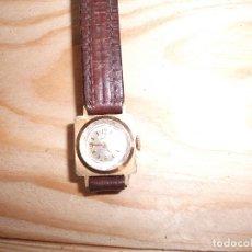 Relojes de pulsera: RELOG ANTIGUO DE SEÑORA CON LA CAJA COMPLETA DE ORO DE 18 KL., FUNCIONANDO. Lote 182423077