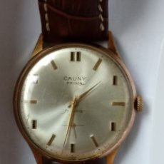 Relojes de pulsera: RELOJ CAUNY PRIMA DE CARGA MANUAL.. Lote 182505420