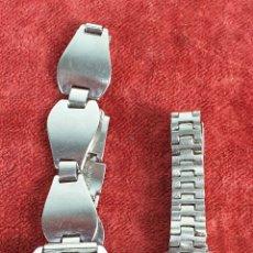 Relojes de pulsera: PAREJA DE RELOJES DE PULSERA. SEIKO Y OSCAR. JAPON. CIRCA 1970. . Lote 182577233
