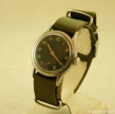 Relojes de pulsera: RARO ALPINA MILITAR MECANICO NUMERADO II GUERRA MUNDIAL AÑOS 40 MANUFACTURA. Lote 182579962