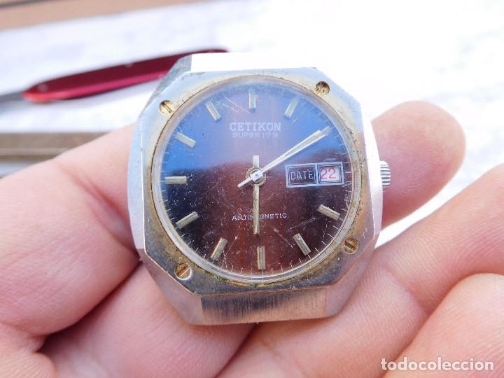 RELOJ MANUAL MARCA CETIKON AÑOS 70 (Relojes - Pulsera Carga Manual)