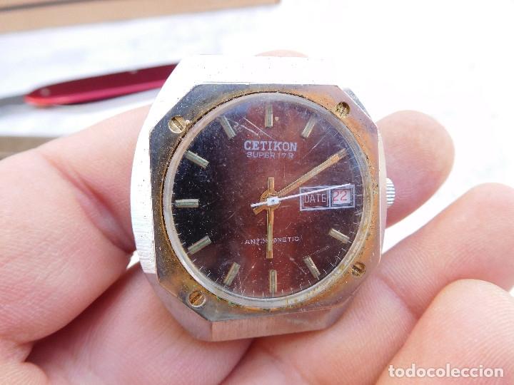 Relojes de pulsera: Reloj manual marca Cetikon años 70 - Foto 2 - 182627188