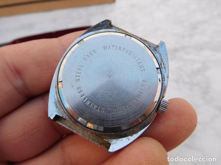 Relojes de pulsera: Reloj manual marca Cetikon años 70 - Foto 7 - 182627188